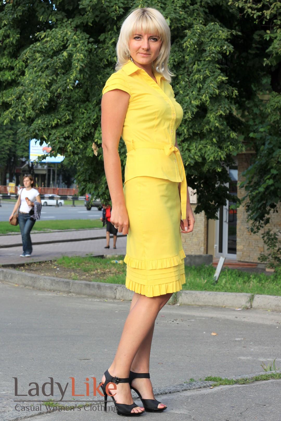 Желтые Блузки Купить