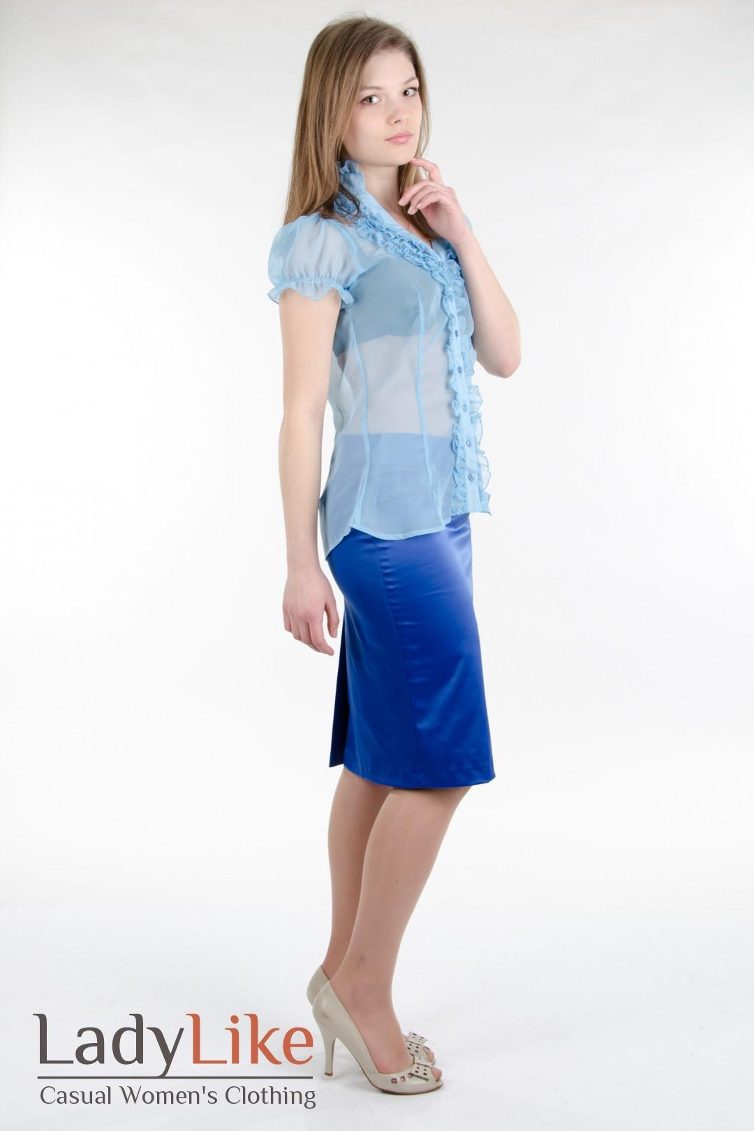 Блузка Индиго С Доставкой