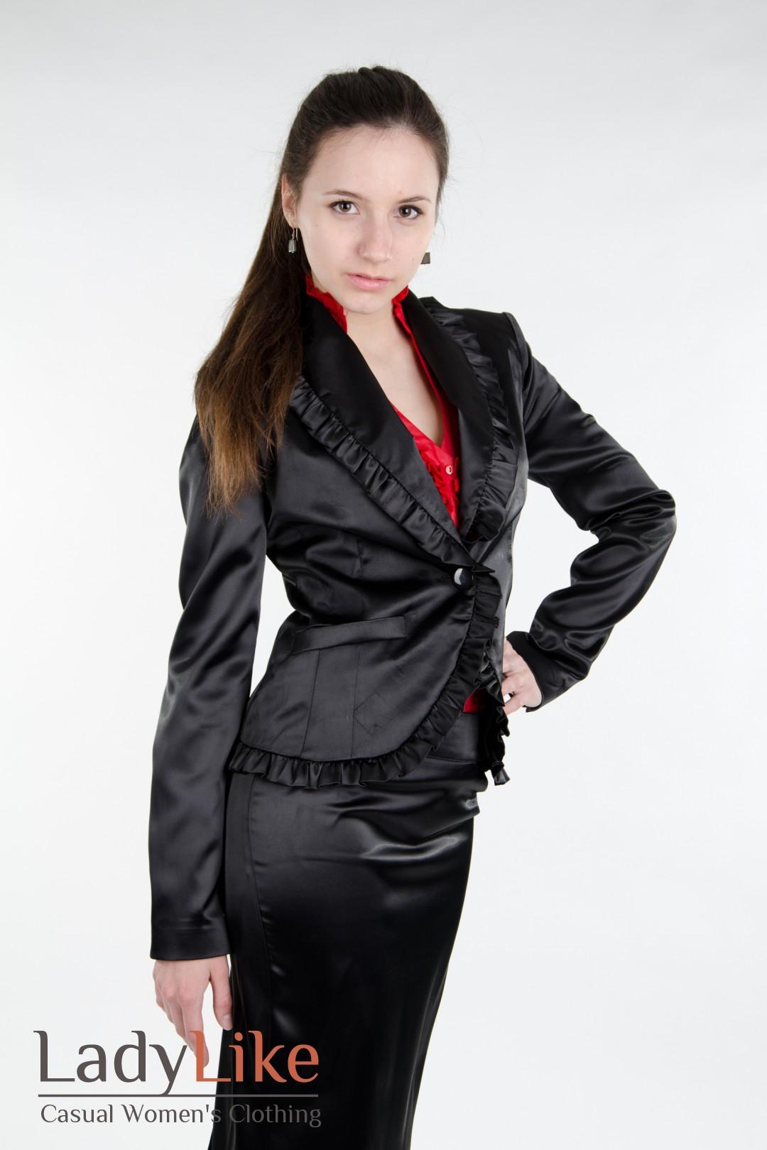 Женские Черные Костюмы С Доставкой