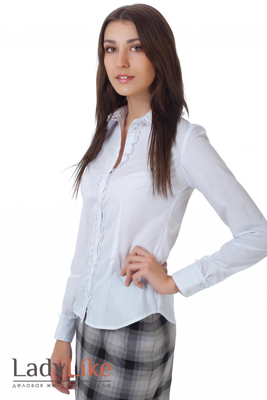 Белые Деловые Блузки С Доставкой