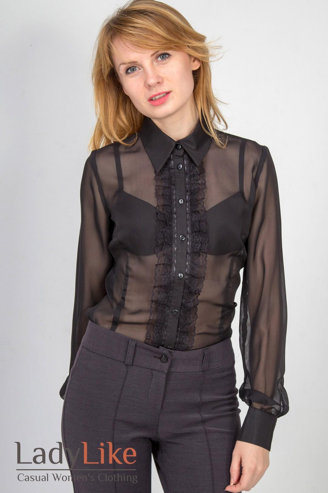Черная Блузка С Доставкой