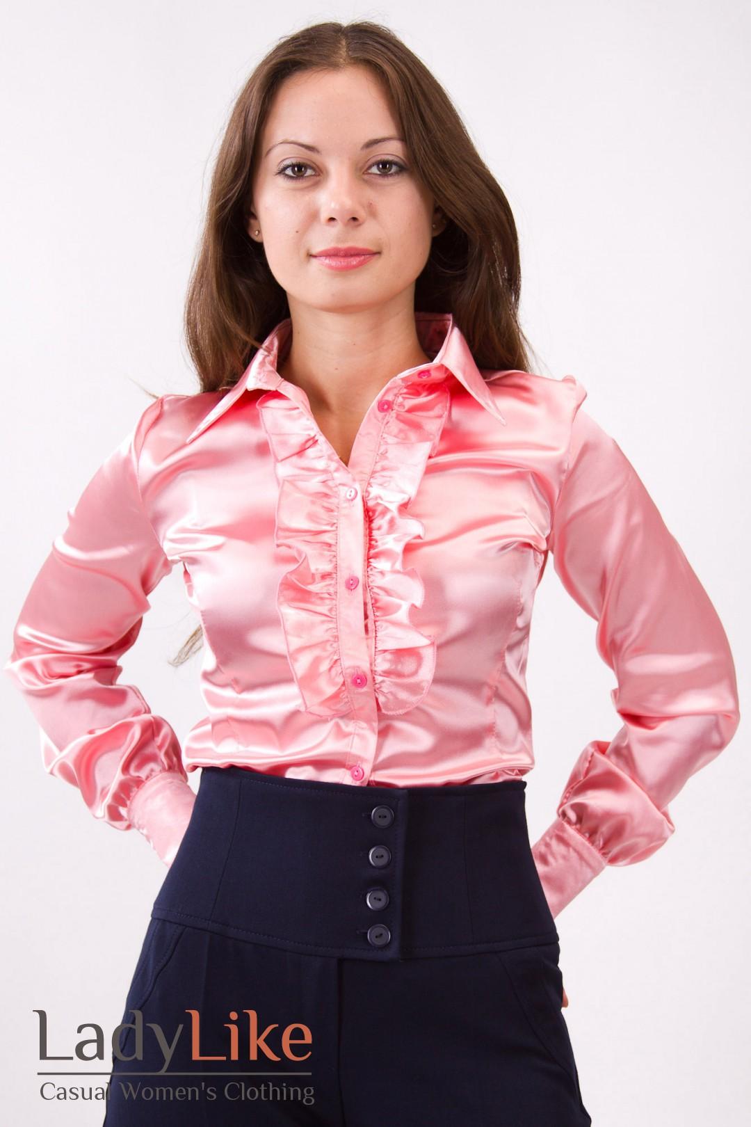 Блузки атласные купить