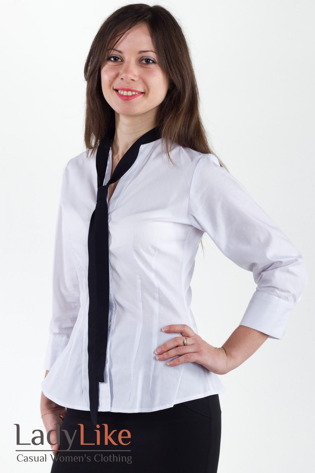 Купить Блузку С Галстуком
