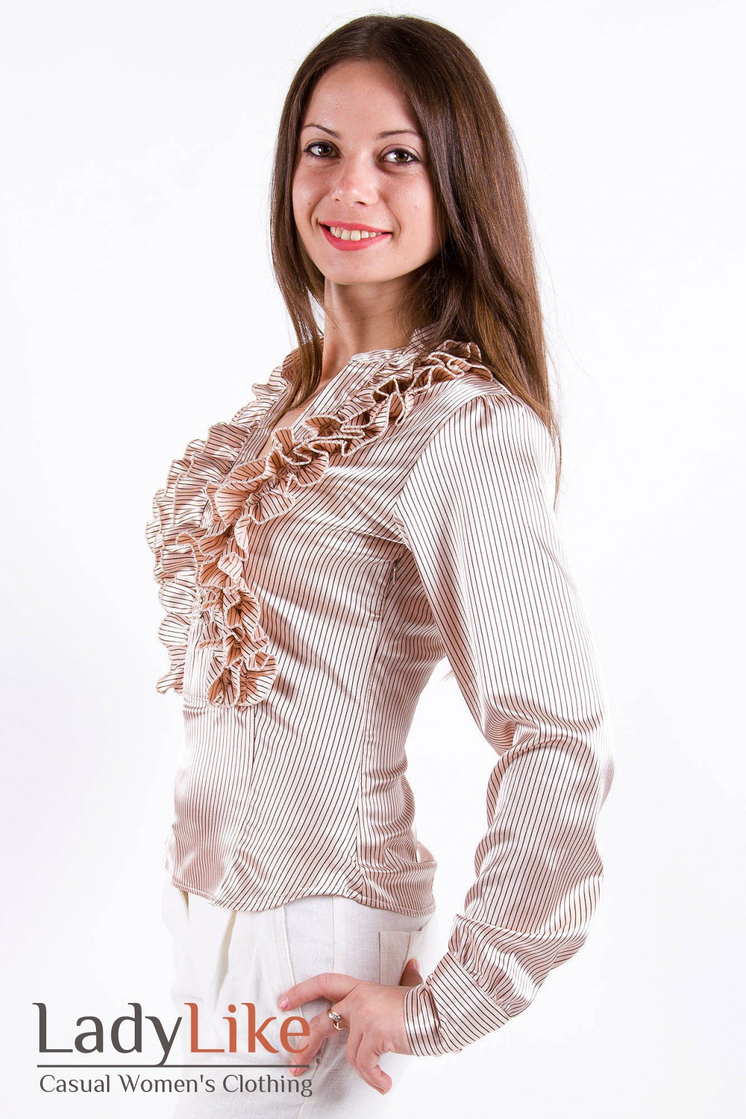 Купить блузку из атласа