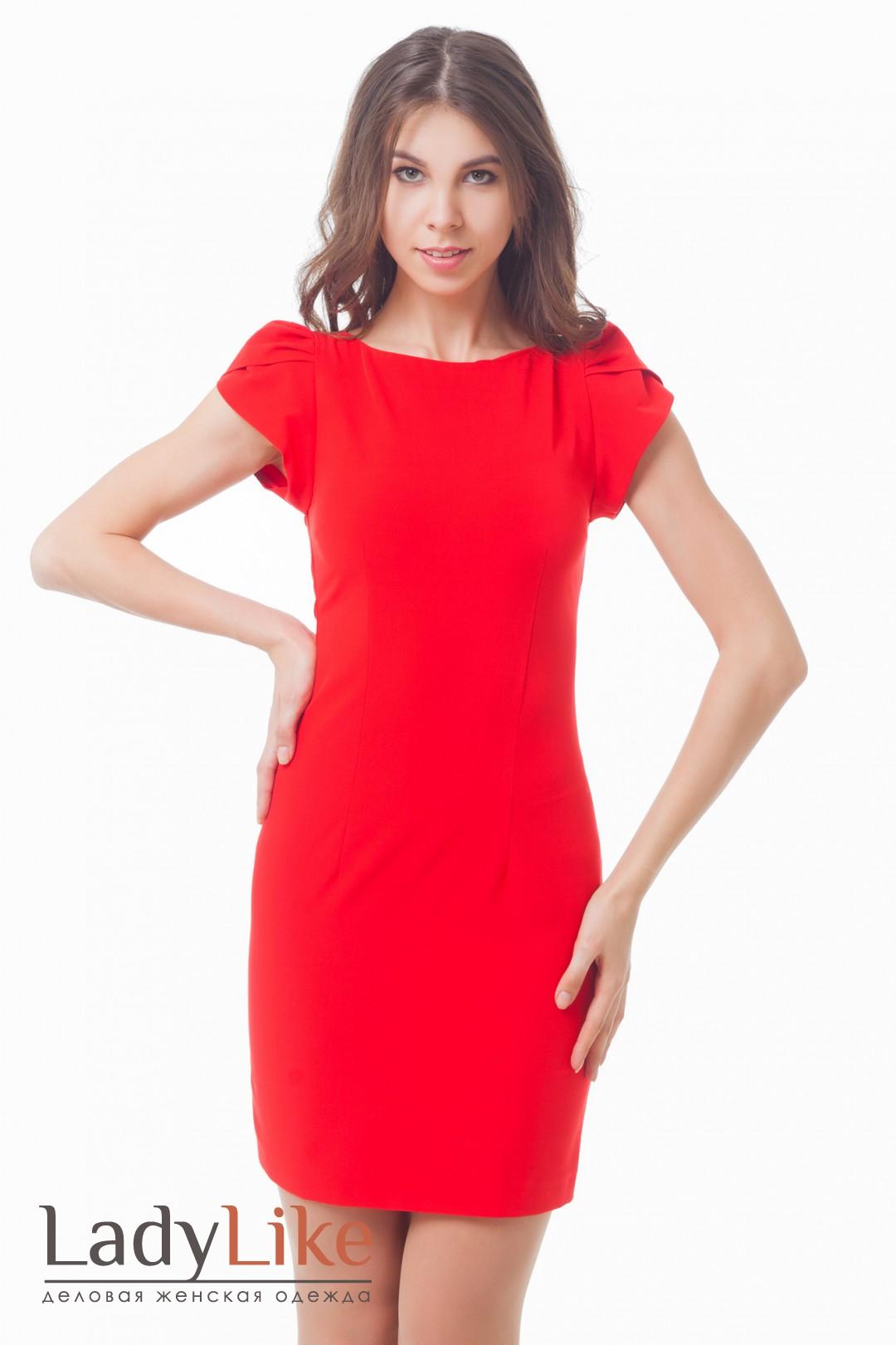 Красное платье купить в москве