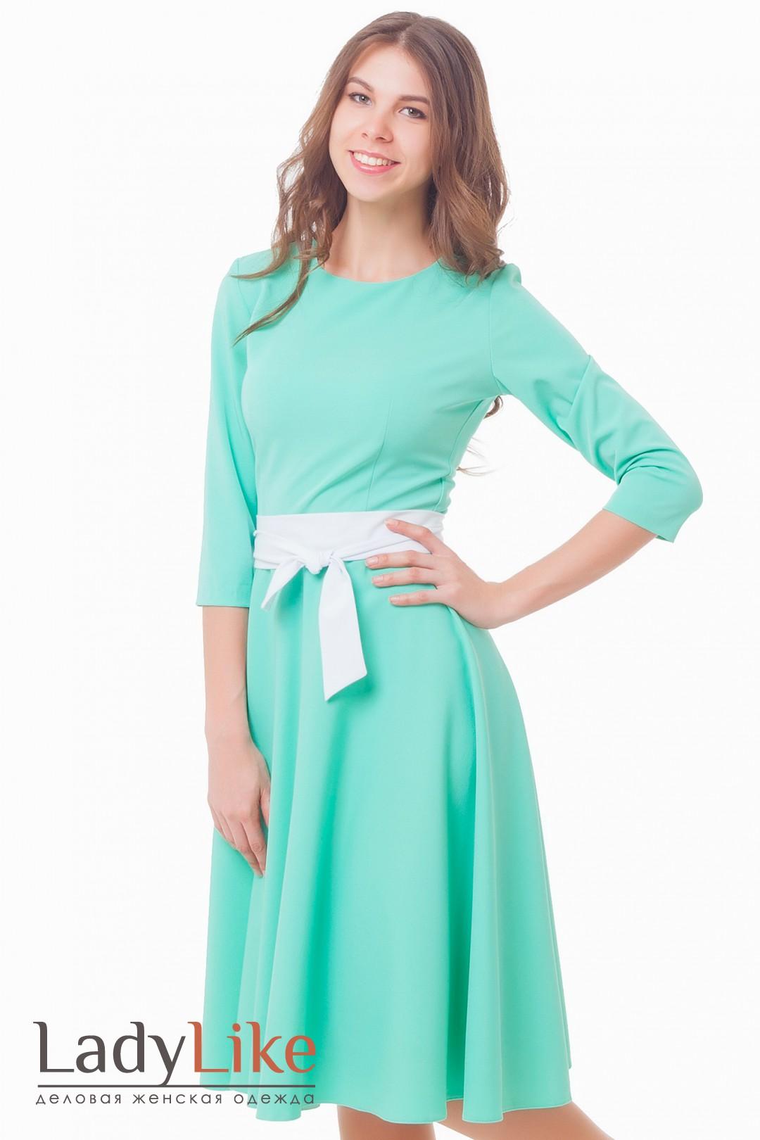 Платье с юбкой миди купить