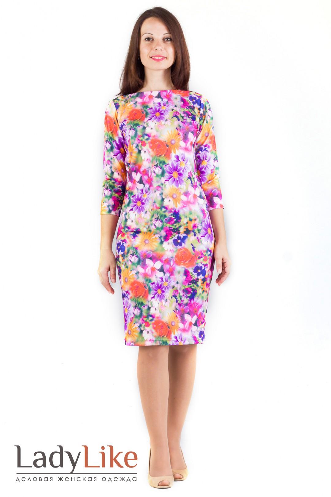 Платья с цветочным принтом: 35 фото. С чем носить платья с 56