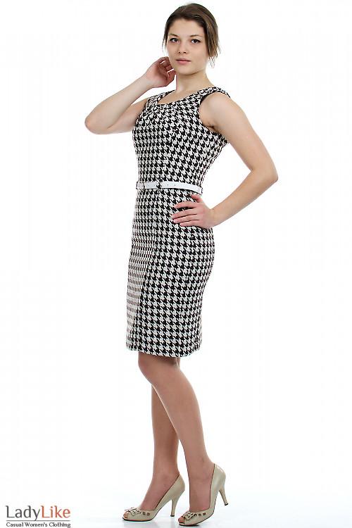 Сарафан классический теплый Деловая женская одежда.