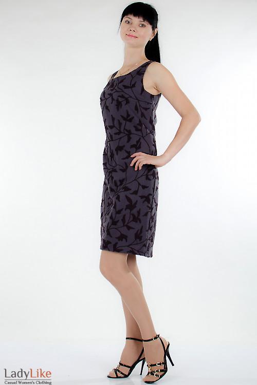 Посмотреть Сарафан серый теплый Деловая женская одежда.