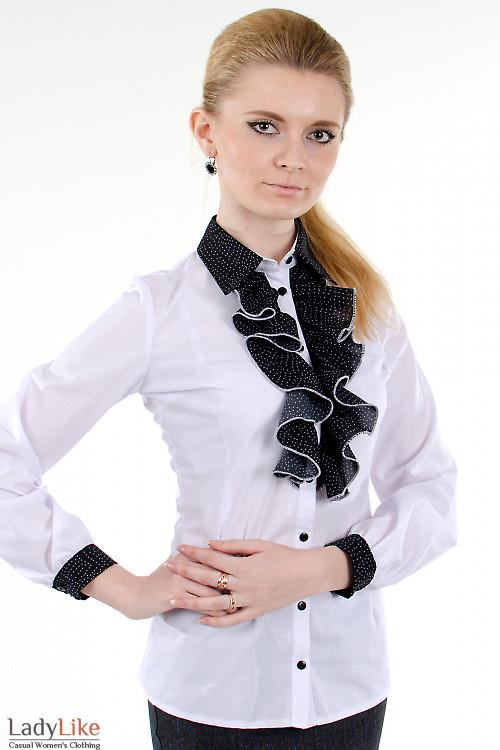 Деловые блузки женские