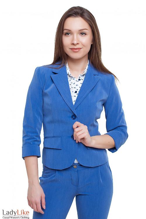 Жакет под джинс Деловая женская одежда фото