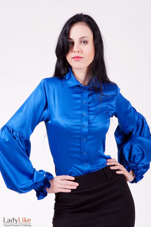 Купить Атласную Блузку