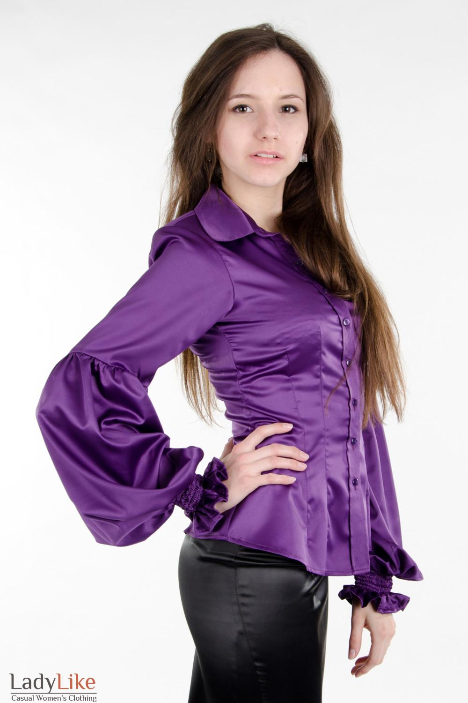 Сиреневая Блузка В Спб