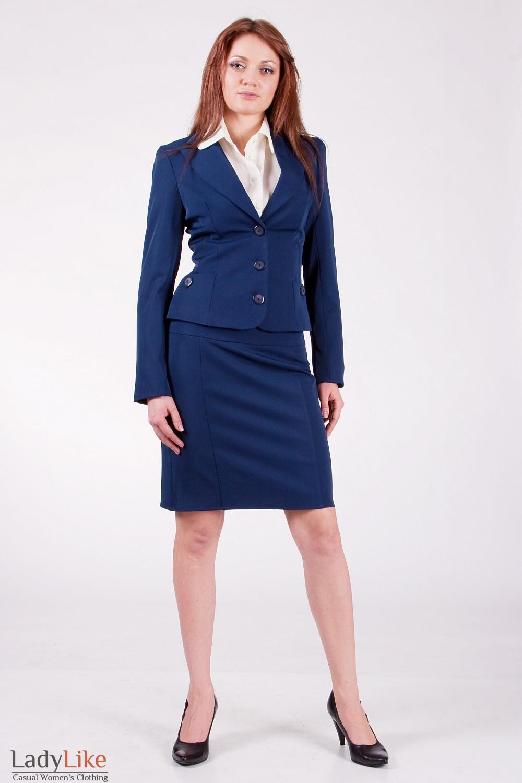 Блуза из тонкого шифона большого размера с костюмом