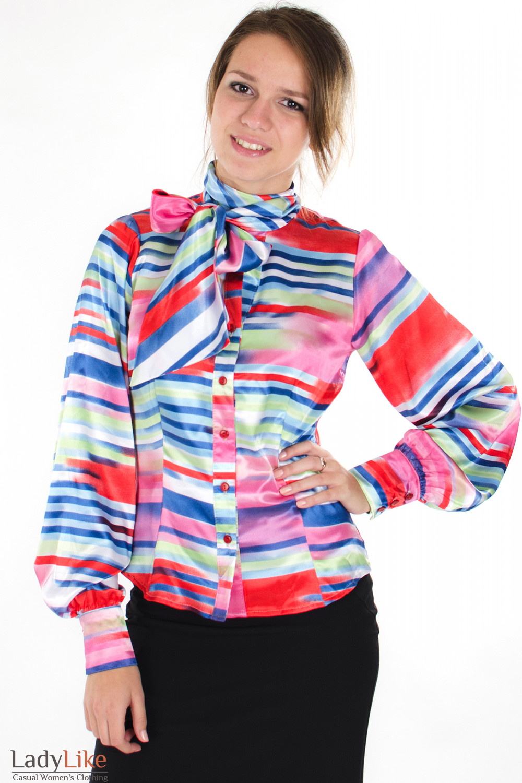 Цветные Блузки С Доставкой