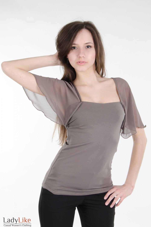 Блузка С Крылышками Доставка