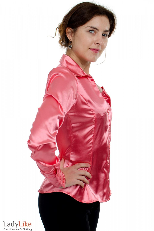 Блузка Из Атласа Для Полных Доставка