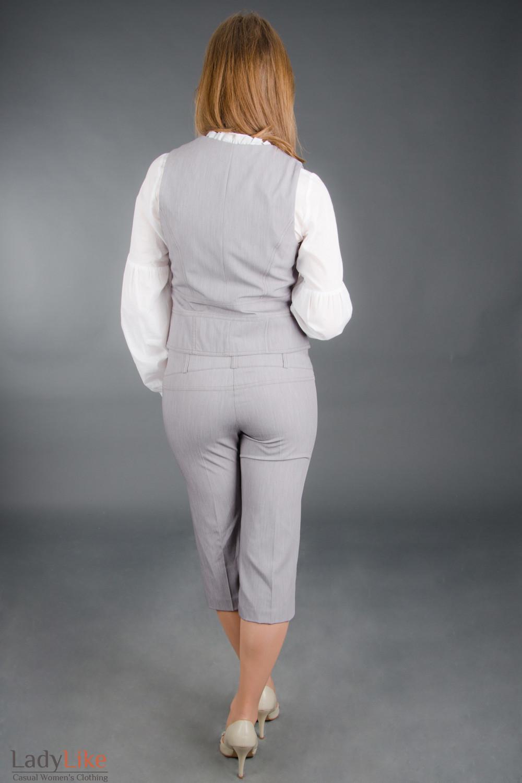 Шорты серые модные Деловая женская одежда