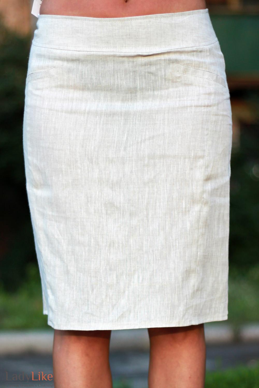 Как сшить юбку из льна фото