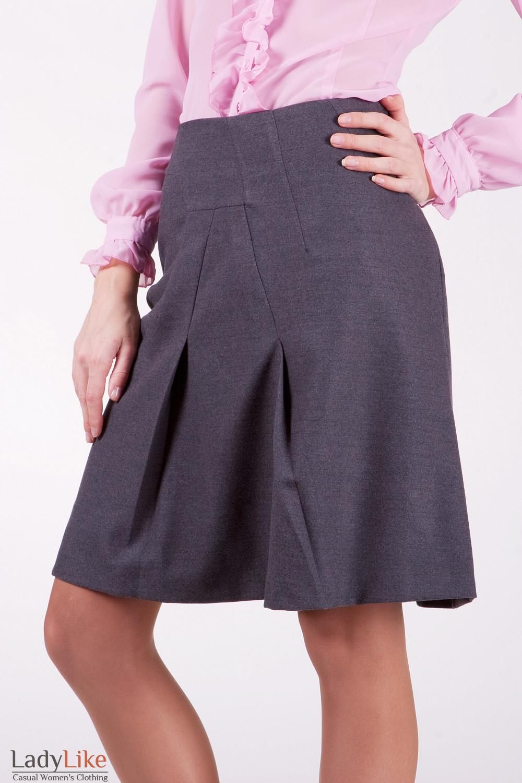 Юбка 418g Оригинальная юбка свободного покроя.