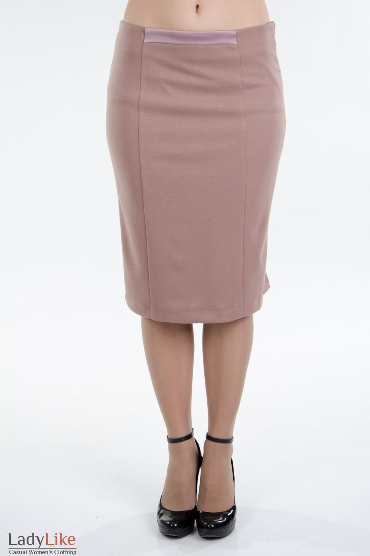 Эффектная и красивая макси-юбка в пол с рюшами из мягкого трикотажа.