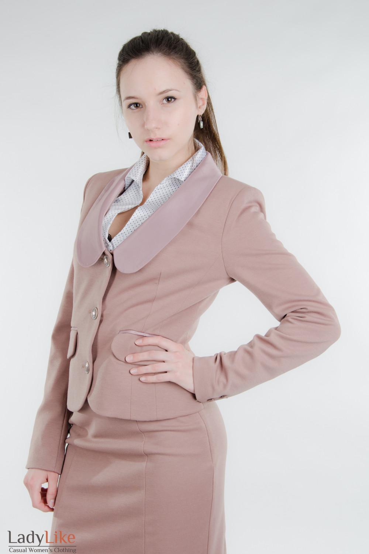 для полных офисная одежда фото Одежда