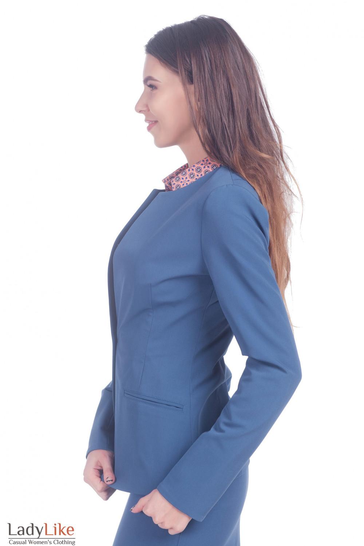 Жакет приталенный Деловая женская одежда фото