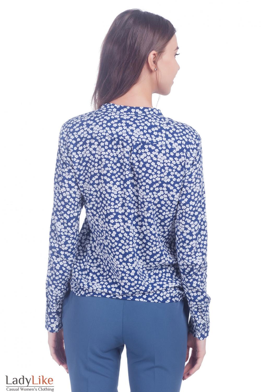 Блузка свободная Деловая женская одежда фото