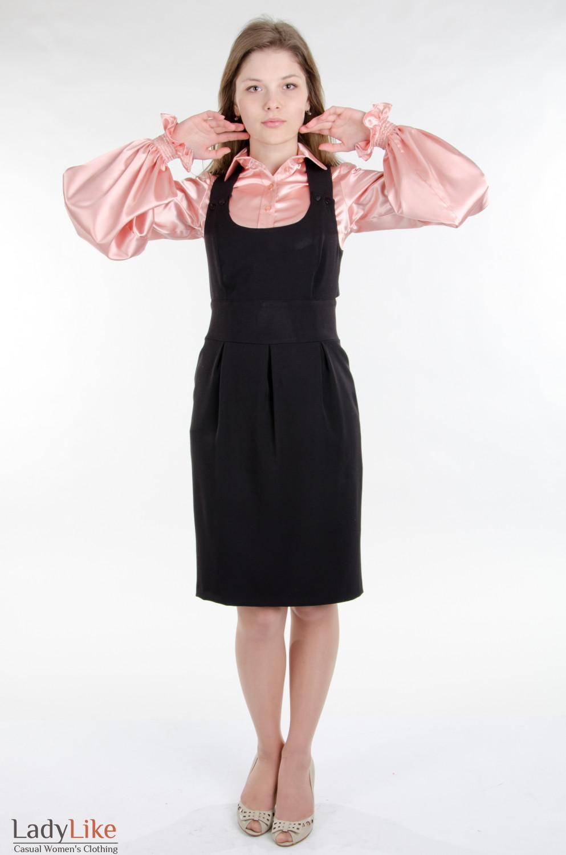 черное платье для свидетельницы