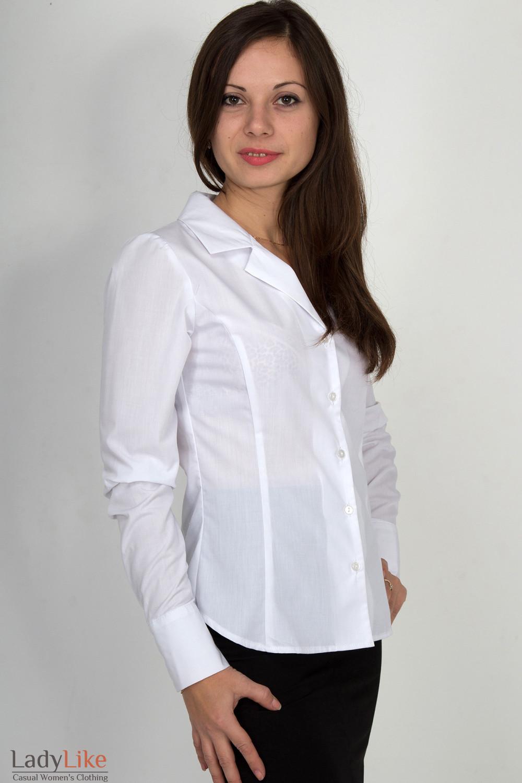 Купить Блузку С Воротником В Омске