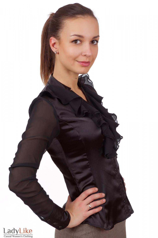 Деловая блузка доставка
