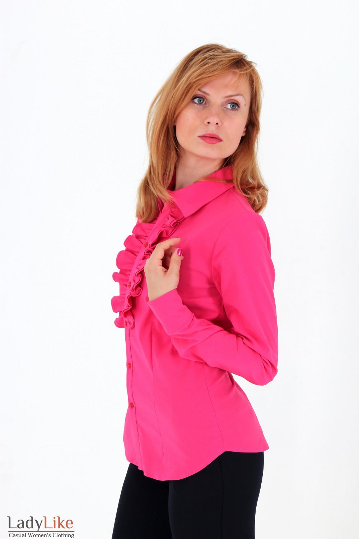 Блузка Малиновая В Москве