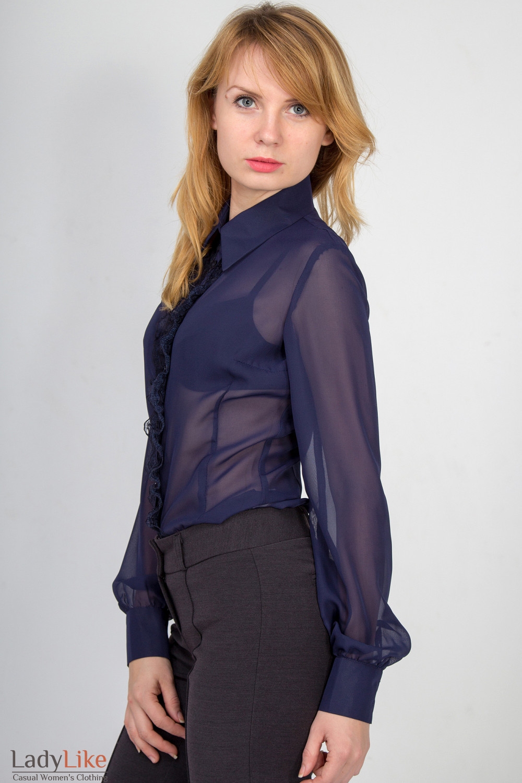Блузка из трикотажа фото