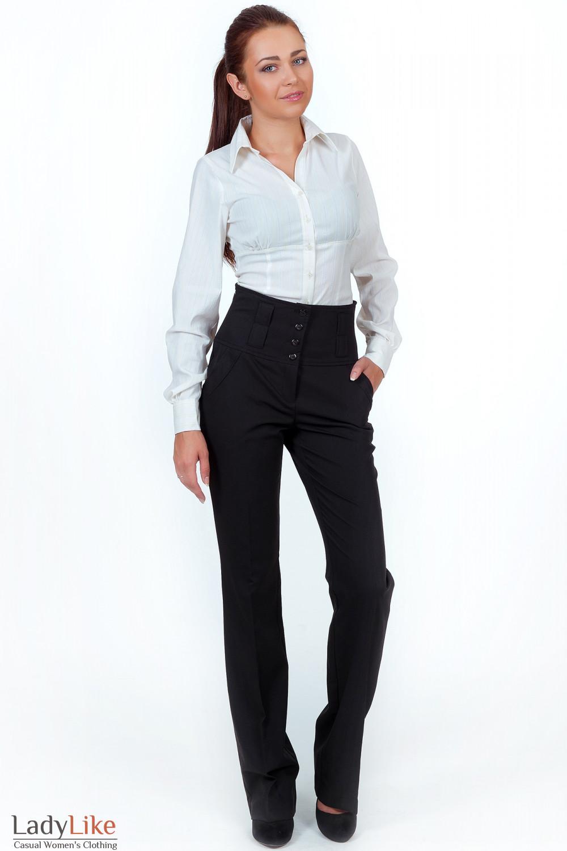 брюки женские высокая талия выкройка