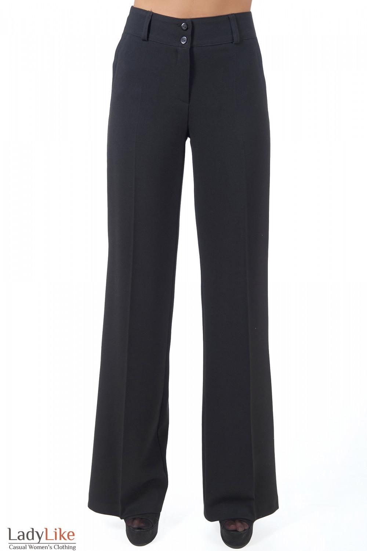 Женские брюки с завышенной талией с доставкой