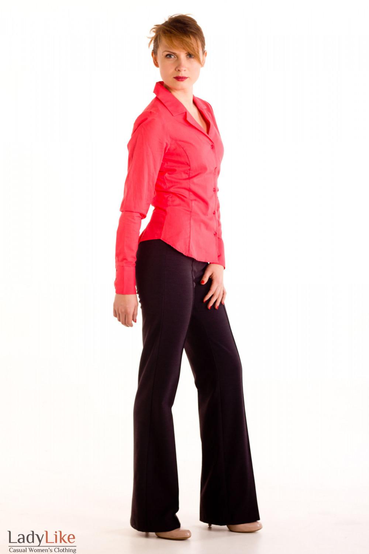 Фото Брюки с начесом Деловая женская одежда