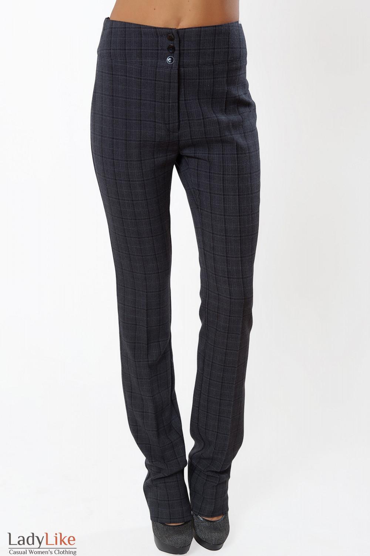 Купить брюки зауженные с высокой талией Деловая женская одежда