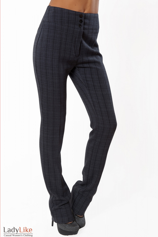 Купить брюки в клетку Деловая женская одежда