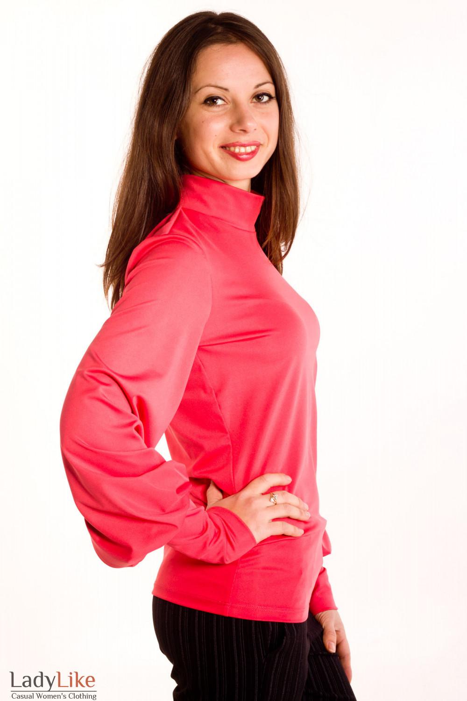 Фото Гольф коралловый Деловая женская одежда