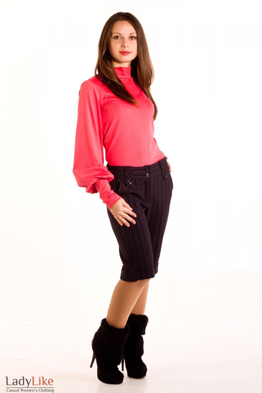 Фото Гольфик коралловый Деловая женская одежда
