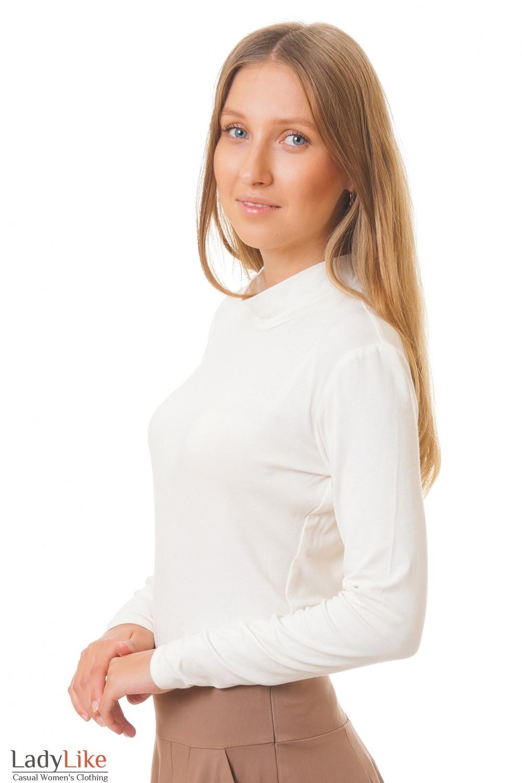 Купить трикотажный гольф Деловая женская одежда