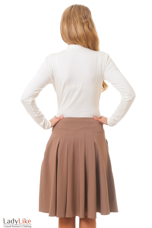Гольф вид сзади Деловая женская одежда