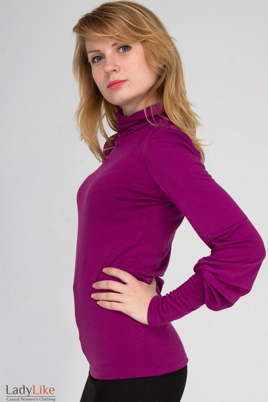 Фото Гольф сиреневый Деловая женская одежда