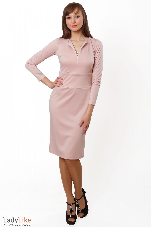 Купить платье с отрезной талией. Деловая женская одежда