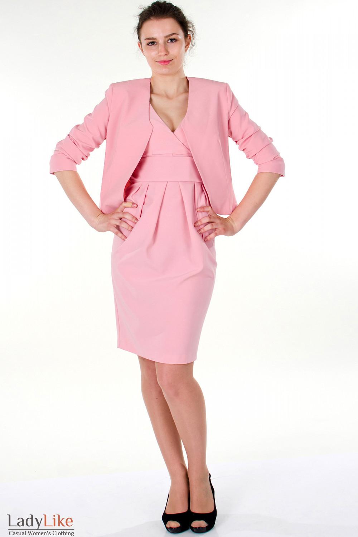 Фото Платье с болеро Деловая женская одежда