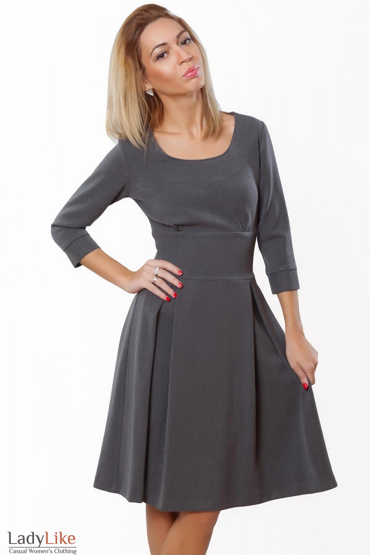 Купить платье с пышной юбкой. Деловая женская одежда