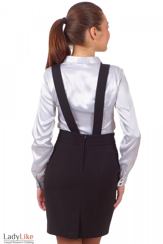 Фото Юбка теплая черная Деловая женская одежда