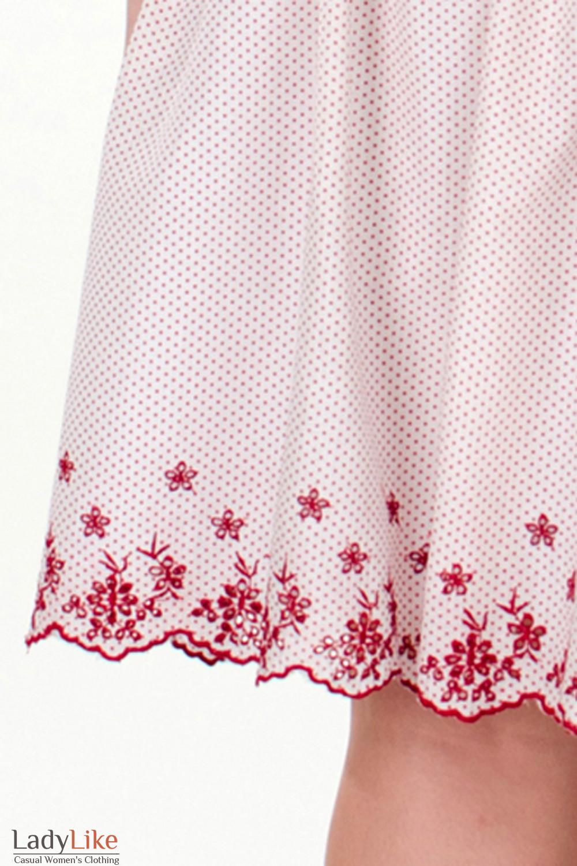 Фото Вышивка юбки Деловая женская одежда