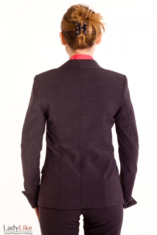 Фото Жакет с начесом Деловая женская одежда