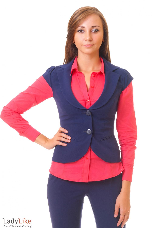 Купить жилет с брюками Деловая женская одежда